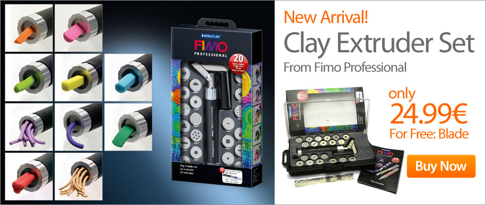 Clay Extruder Set Fimo Professional 8700-07