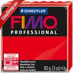 Fimo Professional 200 Pure Red 350gr