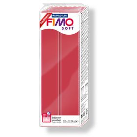 FIMO-Soft-Large-Block-350gr-Cherry-Red-26