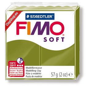 Fimo Soft Basic 57 Green Olive - New Color Trend 2019