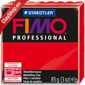 Fimo Professional 200 Pure Red 85gr