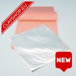 ClayShop.eu Silver Foil Sheet Package 20
