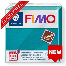 Fimo Leather Effect Clay 369 Lagoon