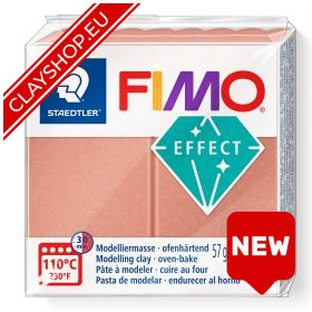Fimo Effect Clay Pearl 207 Rosé