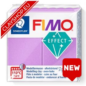 Fimo Effect Clay Pearl 607 Lilac
