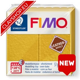 Fimo Leather Effect Clay 179 Ochre
