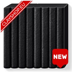 Fimo Leather Effect Clay 909 Black
