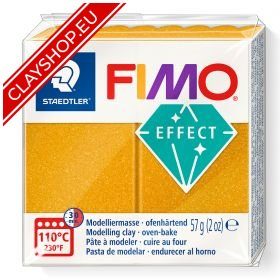 Fimo Effect Polymer Clay Metallic 11 Gold