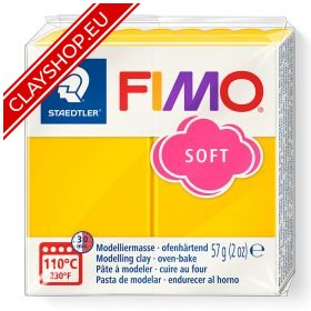16-Fimo-Soft-Effects-Polymer-Clay-56g-Block-Sun-Flower