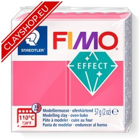 204-Fimo-Soft-Effects-Polymer-Clay-56g-Block-Translucent-Red