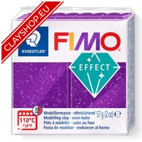 602-Fimo-Soft-Effects-Polymer-Clay-56g-Block-Glitter-Lilac