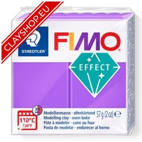 604-Fimo-Soft-Effects-Polymer-Clay-56g-Block-Translucent-Lilac