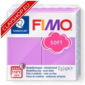 62-Fimo-Soft-Effects-Polymer-Clay-56g-Block-Lavender