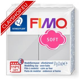80-Fimo-Soft-Effects-Polymer-Clay-56g-Block-Dolphin-Grey