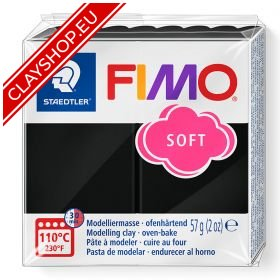 9-Fimo-Soft-Effects-Polymer-Clay-56g-Block-Black