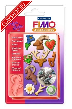 8725-09 Fimo Push Mould Alps Style
